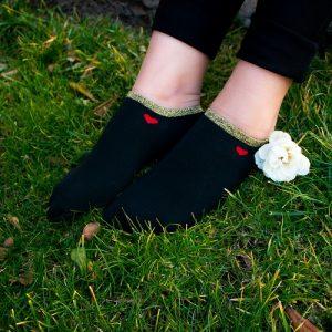 جوراب لمه مشکی