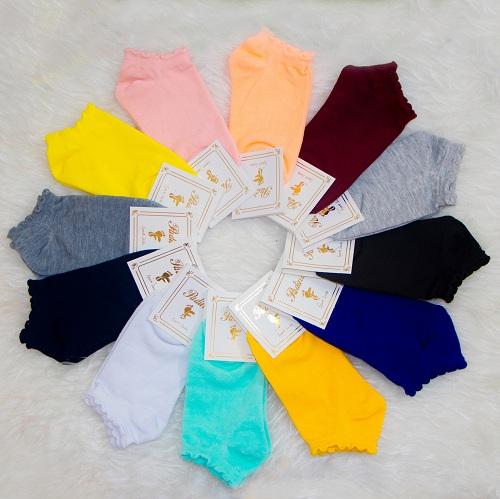 جوراب ساده رنگی