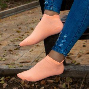 جوراب مچی ساده رنگی